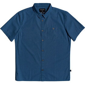 Quiksilver Taxer Wash SS Shirt Men majolica blue